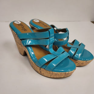 Primary Photo - BRAND: SOFFT STYLE: SANDALS LOW COLOR: TURQUOISE SIZE: 7 OTHER INFO: NEW! SKU: 198-19888-31095