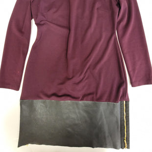 Primary Photo - BRAND: IVANKA TRUMP STYLE: DRESS SHORT LONG SLEEVE COLOR: BURGUNDY SIZE: M SKU: 198-19888-33292