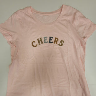 Primary Photo - BRAND: GAP STYLE: TOP SHORT SLEEVE BASIC COLOR: LIGHT PINK SIZE: L SKU: 198-19888-31530