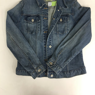 Primary Photo - BRAND: GAP STYLE: JACKET OUTDOOR COLOR: DENIM SIZE: L SKU: 198-19888-35131
