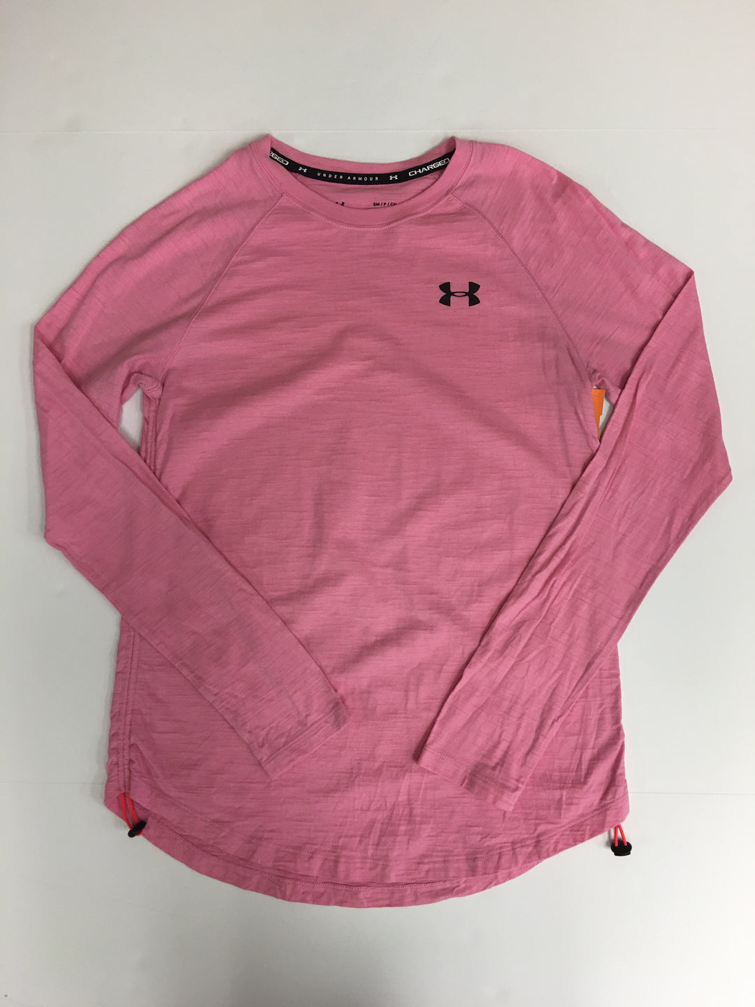 Primary Photo - BRAND: UNDER ARMOUR <BR>STYLE: ATHLETIC TOP <BR>COLOR: PINK <BR>SIZE: S <BR>SKU: 198-19888-31782