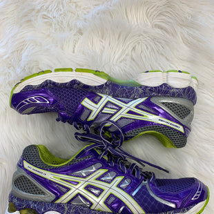 Primary Photo - BRAND: ASICS STYLE: SHOES ATHLETIC COLOR: PURPLE SIZE: 10 SKU: 198-19888-21850