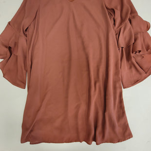 Primary Photo - BRAND: GIANNI BINI STYLE: DRESS SHORT LONG SLEEVE COLOR: PEACH SIZE: L SKU: 198-19812-16624