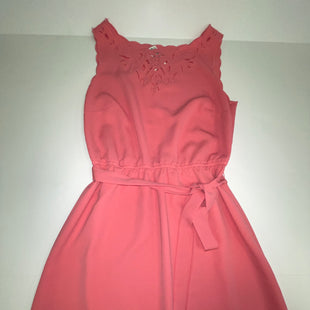 Primary Photo - BRAND: ANN TAYLOR LOFT O STYLE: DRESS SHORT SLEEVELESS COLOR: CORAL SIZE: XS SKU: 198-19888-33313