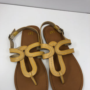 Primary Photo - BRAND: GAP STYLE: SANDALS FLAT COLOR: YELLOW SIZE: 7 OTHER INFO: NEW! SKU: 198-19812-17456