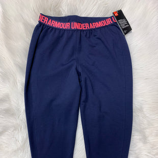 Primary Photo - BRAND: UNDER ARMOUR STYLE: ATHLETIC PANTS COLOR: BLUE SIZE: XS SKU: 198-19888-24433