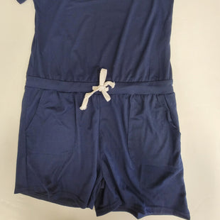 Primary Photo - BRAND: SHEIN STYLE: DRESS SHORT SHORT SLEEVE COLOR: NAVY SIZE: L OTHER INFO: ROMPER SKU: 198-19812-16622