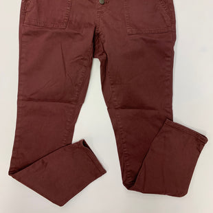 Primary Photo - BRAND: UNIVERSAL THREAD STYLE: PANTS COLOR: BURGUNDY SIZE: 2 OTHER INFO: NEW! SKU: 198-19888-27823