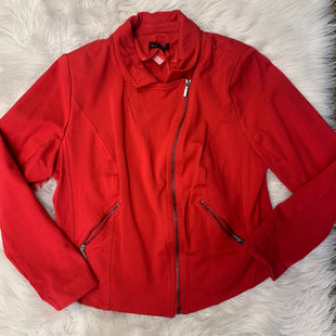 Primary Photo - BRAND: LANE BRYANT STYLE: BLAZER JACKET COLOR: RED SIZE: XL SKU: 198-19888-24178