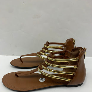 Primary Photo - BRAND: JESSICA SIMPSON STYLE: SANDALS FLAT COLOR: BROWN SIZE: 8.5 OTHER INFO: NEW! SKU: 198-19888-31289