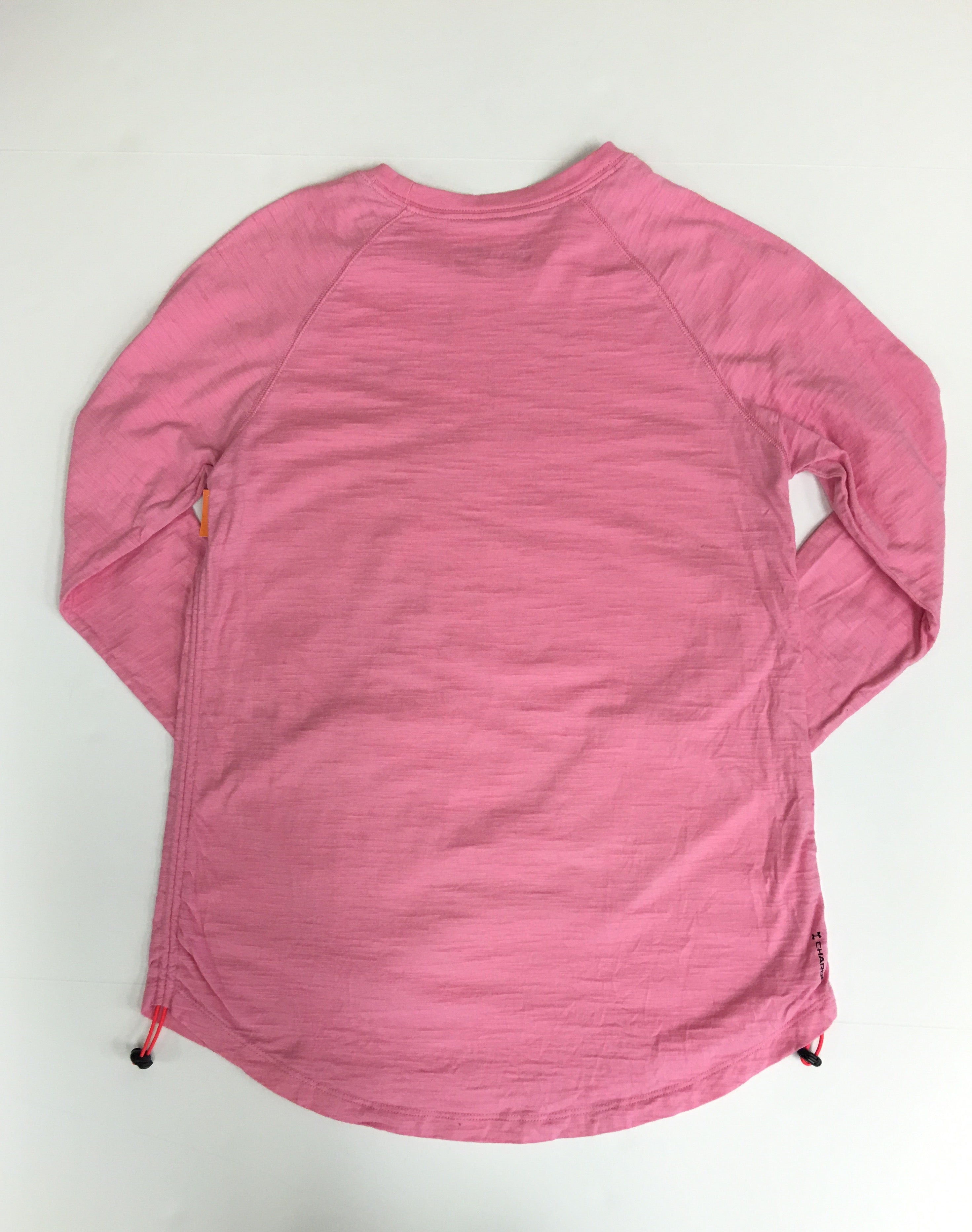 Photo #2 - BRAND: UNDER ARMOUR <BR>STYLE: ATHLETIC TOP <BR>COLOR: PINK <BR>SIZE: S <BR>SKU: 198-19888-31782