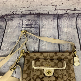 Primary Photo - BRAND: COACH STYLE: HANDBAG DESIGNER COLOR: BEIGE SIZE: SMALL SKU: 198-19888-24914