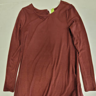 Primary Photo - BRAND: OLD NAVY O STYLE: DRESS SHORT LONG SLEEVE COLOR: BURGUNDY SIZE: S SKU: 198-19888-33191
