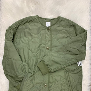 Primary Photo - BRAND: GAP STYLE: COAT SHORT COLOR: OLIVE SIZE: M SKU: 198-19888-23422