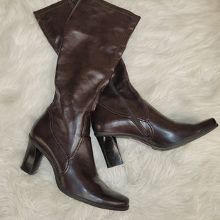 Primary Photo - BRAND: FRANCO SARTO STYLE: BOOTS KNEE COLOR: BROWN SIZE: 8.5 SKU: 198-19888-24845