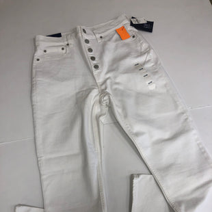Primary Photo - BRAND: GAP STYLE: JEANS COLOR: WHITE SIZE: 10 OTHER INFO: NEW! SKU: 198-19888-29480