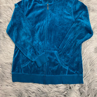 Primary Photo - BRAND: SBJ ACTIVE STYLE: ATHLETIC JACKET COLOR: TURQUOISE SIZE: M SKU: 198-19888-24367