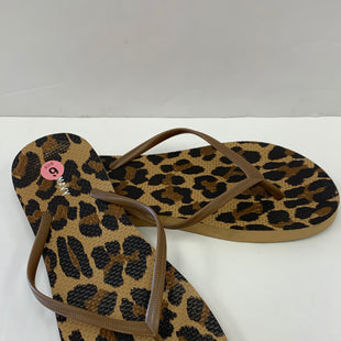 Primary Photo - BRAND: OLD NAVY O STYLE: SANDALS FLAT COLOR: ANIMAL PRINT SIZE: 9 SKU: 198-19888-31212