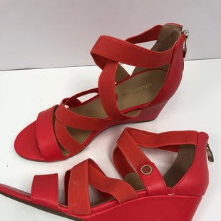 Primary Photo - BRAND: LIZ CLAIBORNE O STYLE: SANDALS LOW COLOR: CORAL SIZE: 6.5 OTHER INFO: NEW! SKU: 198-19888-32856