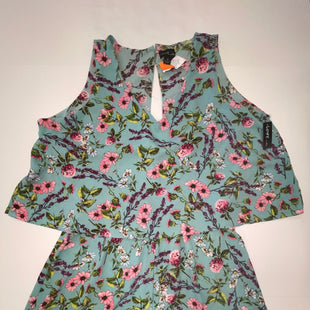 Primary Photo - BRAND:  LOVE BY CHELSEASTYLE: ROMPER SLEEVELESS COLOR: MINT SIZE: 2X OTHER INFO: LOVE BY CHELSEA - NEW! ROMPER SKU: 198-19888-32835