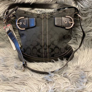 Primary Photo - BRAND: COACH O STYLE: HANDBAG DESIGNER COLOR: BLACK SIZE: MEDIUM OTHER INFO: AS IS SKU: 198-19812-11893