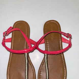 Primary Photo - BRAND:    CLOTHES MENTOR STYLE: SANDALS FLAT COLOR: PINK SIZE: 7.5 SKU: 198-19876-14439