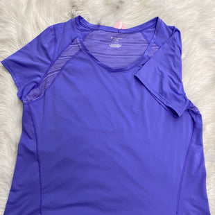 Primary Photo - BRAND: TEK GEAR STYLE: ATHLETIC TOP SHORT SLEEVE COLOR: PURPLE SIZE: 1X SKU: 198-19888-24930
