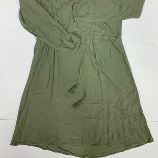 Primary Photo - BRAND: H&M STYLE: DRESS SHORT LONG SLEEVE COLOR: OLIVE SIZE: 2 OTHER INFO: NEW! COMPARE $35 SKU: 198-19812-15858