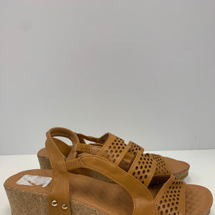 Primary Photo - BRAND: FOREVER STYLE: SANDALS FLAT COLOR: TAN SIZE: 8.5 OTHER INFO: NEW! SKU: 198-19812-16202