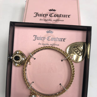 Primary Photo - BRAND: JUICY COUTURE STYLE: BRACELET COLOR: GOLD OTHER INFO: NEW! COMPARE $26.00 SKU: 198-19812-15684