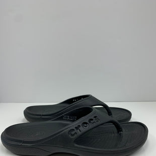 Primary Photo - BRAND: CROCS STYLE: SANDALS FLAT COLOR: BLACK SIZE: 7 SKU: 198-19888-33204