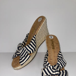 Primary Photo - BRAND: CHICOS O STYLE: SANDALS LOW COLOR: STRIPED SIZE: 7 SKU: 198-19812-9175