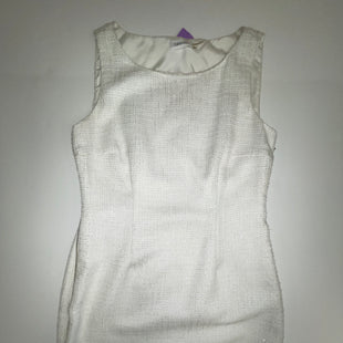 Primary Photo - BRAND: CALVIN KLEIN STYLE: DRESS SHORT SLEEVELESS COLOR: WHITE SIZE: L SKU: 198-19888-19021