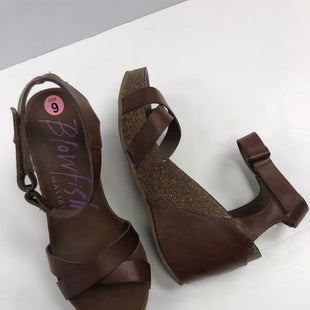 Primary Photo - BRAND: BLOWFISH STYLE: SANDALS LOW COLOR: BROWN SIZE: 9 SKU: 198-19888-25072