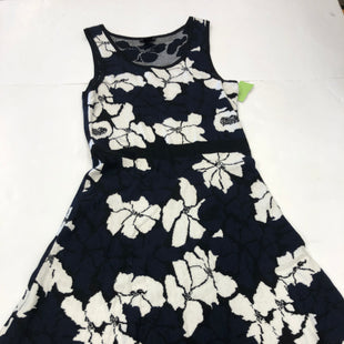 Primary Photo - BRAND: ANN TAYLOR O STYLE: DRESS SHORT SLEEVELESS COLOR: BLACK WHITE SIZE: S SKU: 198-19888-33314