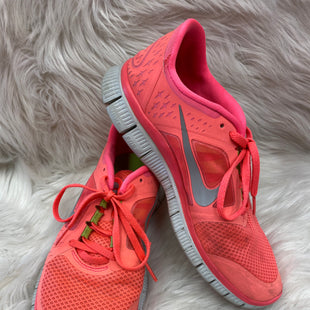 Primary Photo - BRAND: NIKE STYLE: SHOES ATHLETIC COLOR: PINK SIZE: 9 SKU: 198-19888-24040