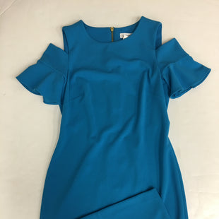 Primary Photo - BRAND: CALVIN KLEIN STYLE: DRESS SHORT SHORT SLEEVE COLOR: BLUE SIZE: M SKU: 198-19888-19319