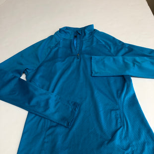 Primary Photo - BRAND: UNDER ARMOUR STYLE: ATHLETIC JACKET COLOR: BLUE SIZE: S SKU: 198-198109-54R