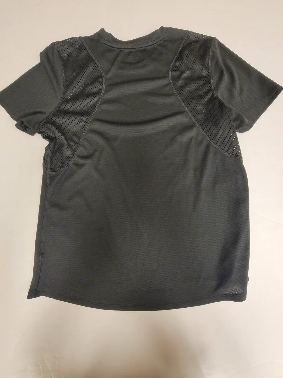 Photo #1 - BRAND: AVIA <BR>STYLE: ATHLETIC TOP SHORT SLEEVE <BR>COLOR: BLACK <BR>SIZE: L <BR>SKU: 198-19812-15565