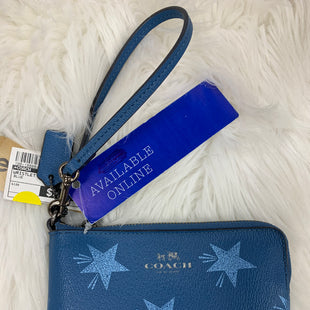 Primary Photo - BRAND: COACH STYLE: WRISTLET COLOR: BLUE SKU: 198-19888-9129