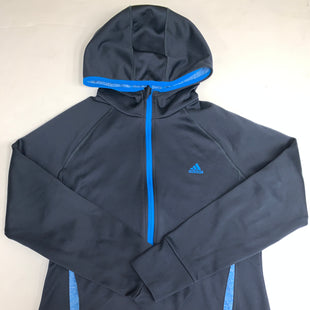 Primary Photo - BRAND: ADIDAS STYLE: ATHLETIC JACKET COLOR: NAVY SIZE: L SKU: 198-19888-29716