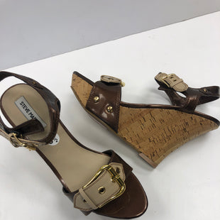 Primary Photo - BRAND: STEVE MADDEN STYLE: SANDALS HIGH COLOR: BROWN SIZE: 8.5 SKU: 198-198111-134