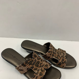 Primary Photo - BRAND: KAREN SCOTT STYLE: SANDALS LOW COLOR: ANIMAL PRINT SIZE: 6.5 SKU: 198-19888-31106