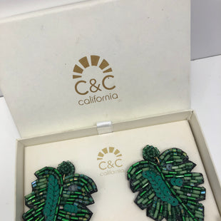 Primary Photo - BRAND:  C&C CALIFORNIASTYLE: EARRINGS COLOR: GREEN OTHER INFO: C&C CALIFORNIA - NEW! SKU: 198-19888-33363