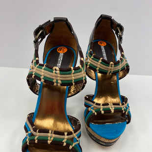Primary Photo - BRAND: CHARLES DAVID STYLE: SANDALS HIGH COLOR: MULTI SIZE: 8.5 OTHER INFO: NEW! SKU: 198-19812-9327COMPARE $119