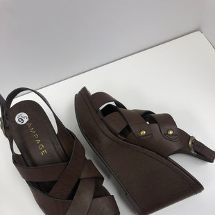 Primary Photo - BRAND: RAMPAGE STYLE: SANDALS HIGH COLOR: BROWN SIZE: 9.5 OTHER INFO: NEW! SKU: 198-19888-33237