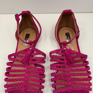 Primary Photo - BRAND: HALOGEN STYLE: SANDALS FLAT COLOR: PINK SIZE: 9 SKU: 198-19888-32245