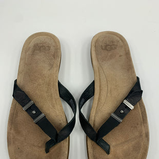 Primary Photo - BRAND: UGG STYLE: SANDALS FLAT COLOR: BLACK SIZE: 7 SKU: 198-19888-27835