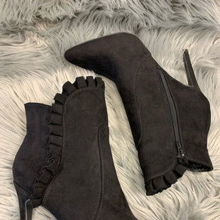 Primary Photo - BRAND: JUSTFAB STYLE: BOOTS ANKLE COLOR: BLACK SIZE: 10 SKU: 198-198117-1207