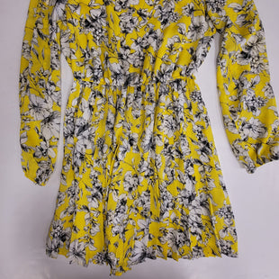 Primary Photo - BRAND: FOREVER 21 STYLE: DRESS SHORT LONG SLEEVE COLOR: YELLOW SIZE: M SKU: 198-19888-32754